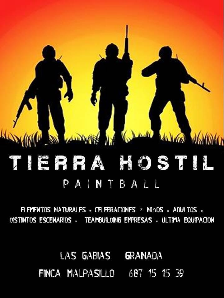 Cartel | Paintball en Granada | Tierra Hostil